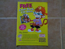Coco Pops choc rock_MAGAZINE CLIPPINGS CUTTINGS_ships frm AUSTRALIA_H8