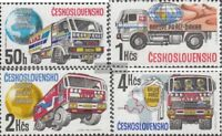 Tschechoslowakei 2984-2987 (kompl.Ausg.) postfrisch 1989 Rallye