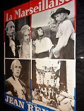 LA MARSEILLAISE ! jean renoir   affiche cinema