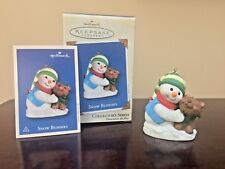 2002 Hallmark Ornament Snow Buddies  #5 in Series