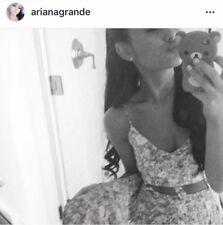 ASO Ariana Grande Urban Outfitters Reverse Asymmetrical Floral Cutout Dress S