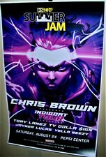 Chris Brown in Concert Show Poster The Indigoat Tour Denver Co Aug 24th 2019