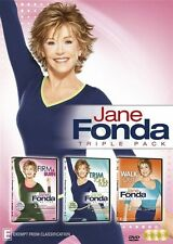 Jane Fonda Triple Pack NEW R4 DVD