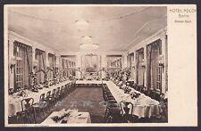 GERMANIA DEUTSCHLAND BERLINO BERLIN 18 HOTEL ADLON Cartolina viagg Postcard 1911