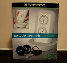 Emerson Portable Electronic Key Finder 45 Foot Range Wireless