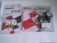Bike It LED Indicator Set Yamaha Fairing & Rear Number Plate Mount INDLED 17 35