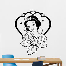Snow White Wall Decal Seven Dwarfs Cartoon Vinyl Sticker Art Decor Mural 36crt