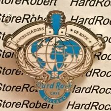 2006 HARD ROCK CAFE CHICAGO AMBASSADORS OF ROCK 35TH YEAR LE PIN
