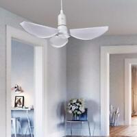 60W / 6000LM LED Bombilla de garaje, Lámpara de techo de garaje con paneles