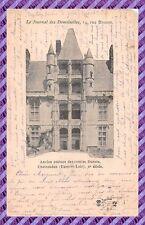 CPA-28- châteaudun Antico château dei contee Mese ( Cartolina Pubblicità )