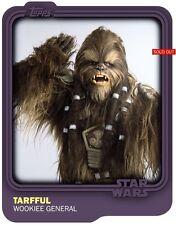 STAR WARS CARD TRADER - PURPLE MATTE BASE VARIANT (1 of 2) TARFFUL