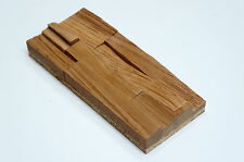 SAMPLE - Wall Cladding Splitted Solid Oak Wood Paneling 3D Vintage