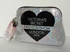 Victoria's Secret Holographic Sequin Makeup Bag Purse London 2014 Fashion Show