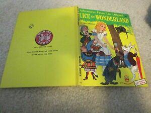1951 Wonder ADVENTURES ALICE IN WONDERLAND Lewis Carroll Tenniel Laszlo Matulay