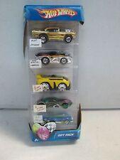 Hot Wheels 5 Car Gift Pack Easter Egg Treme w chrome 57 Chevy