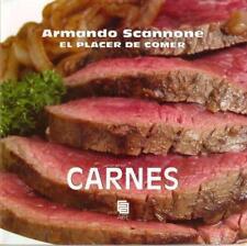 EL PLACER DE COMER, CARNES by Armando Scannone (Spanish, Paperback)