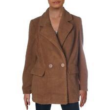 JouJou Womens Faux Fur Warm Teddy Coat Outerwear Juniors BHFO 6281