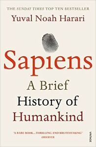Sapiens: Un Breve Storia Di Mankind Da Yuval Noah Harari (Nuovo)