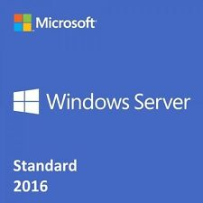 Microsoft Windows Server 2016 Standard 64bit + Remote Desktop User CALs (x50)