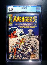 COMICS: Marvel: Avengers #14 (1965), 1st use of 'Avengers Assemble' - CGC 6.5