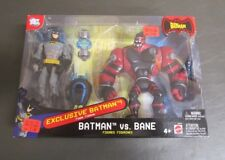 Batman vs Bane DC EXCLUSIVE BATMAN 2 Pack Mattel MIB