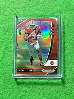 MICHAEL THOMAS PRIZM RED CARD JERSEY #3 SAINTS 2020 Prizm DP RED REFRACTOR