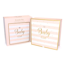 Mad Dots Baby Girl Diamante Embellished Keepsake Memory Box #LP71708