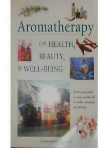 Book - Aromatherapy for Health, Beauty & Well-Being