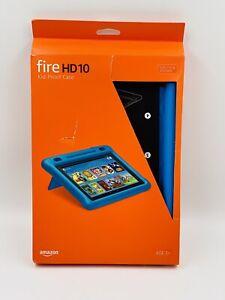 GENUINE Amazon Fire HD10 7th/9th Gen Kid-Proof Case - Blue OPEN BOX
