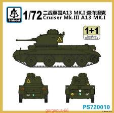 S-model 1/72 PS720010 Crusader Mk.III A13 MK.I (1+1)