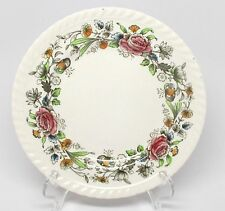 Johnson Brothers Margaret Rose Brown-Multi Bread & Butter Plate(s) Windsor Ware