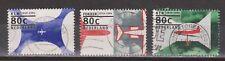 NVPH Nederland Netherlands 1605-1607 NICE CANCELS 1994 vliegtuig aircraft avion