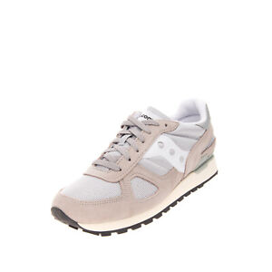 RRP €105 SAUCONY Sneakers EU 43 UK 8.5 US 9.5 Contrast Leather Knitted Logo