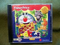 Davidson Fisher Price ABC's featuring the Jungle Jukebox (1995, CD-ROM) Ages 3-5