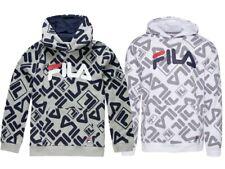 Boys FILA Print Hoodie - Gio Allover Print - White or Grey - MSRP $50 NWT
