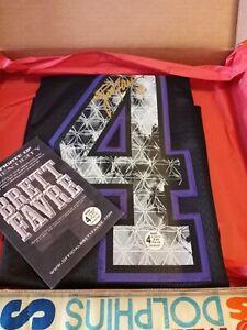 Brett Favre Autographed Minnesota Vikings Officially Licensed Reebok Jersey NWT
