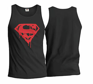 Mens Gym Bodybuilding Workout Vest Fitness Tank Top Training MMA Muscle Clothes