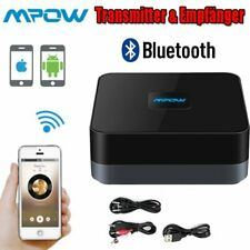 Mpow Wireless Bluetooth Music Receiver Stereo Audio Adapter for Car Home Speaker
