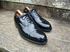 Cheaney Oxford Zapatos De Hombre-Negro-UK 11 – Tees – condición sin uso
