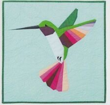 Tiny Jewel - sweet foundation paper pieced mini quilt PATTERN - Flying Parrot