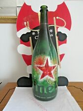 HEINEKEN 3 Liter Magnum Bottle Empty *Unique Version* XMas Holiday Christmas