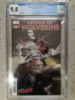 RETURN OF WOLVERINE #1 CONVENTION EDITION NYCC 2018 EXCLUSIVE VARIANT COVER CGC