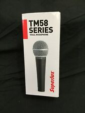 *BRAND NEW* Superlux TM58 Dynamic Vocal Microphone