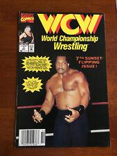 WCW WORLD CHAMPIONSHIP WRESTLING # 7 FINE+ MARVEL COMICS 1992 NEWSSTAND