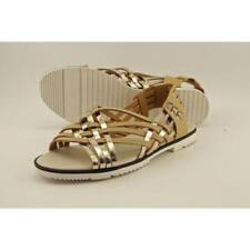 Sandalias con tiras de mujer Calvin Klein de tacón bajo (menos de 2,5 cm)