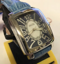 New Giantto Blue Dial Leather Strap Watch