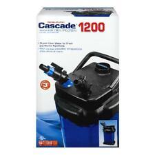 Cascade 150 Gal Aquarium Canister Filter 1200 Crystal Clear Water Fresh & Marine
