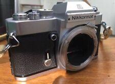 Nikkormat EL Film Camera Body for Nikon F Lenses, Working!