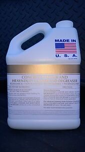 PATRIOT CHEMICAL SALES CONCRETE CLEANER/DEGREASER 1 GALLON MAKES UP TO 75 GAL