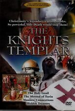 THE KNIGHTS TEMPLAR. HOLY GRAIL, MASONIC CONNECTION. NEW DVD